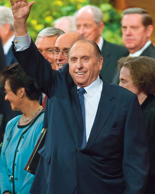 Church President Thomas Monson Mormon