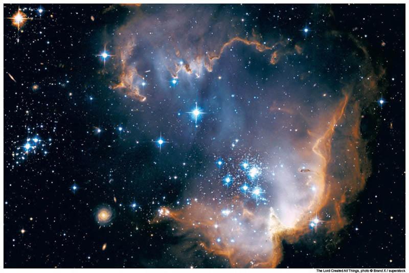 Satellite view of Magellanic Cloud.