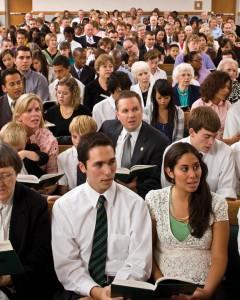Mormon church meeting Blacks Priesthood