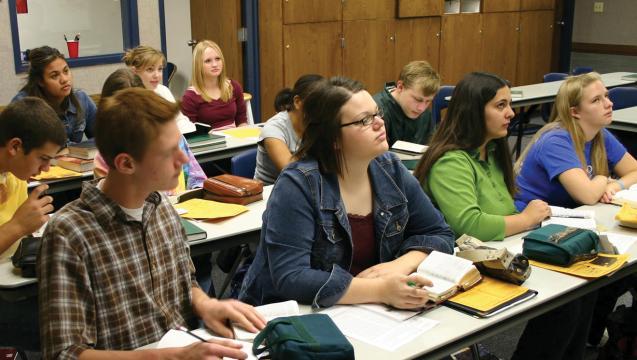 Mormon Seminary Students