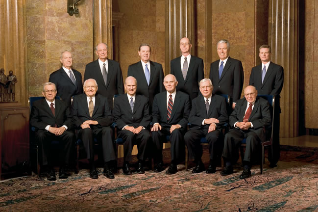 Mormon Quorum of Twelve Apostles