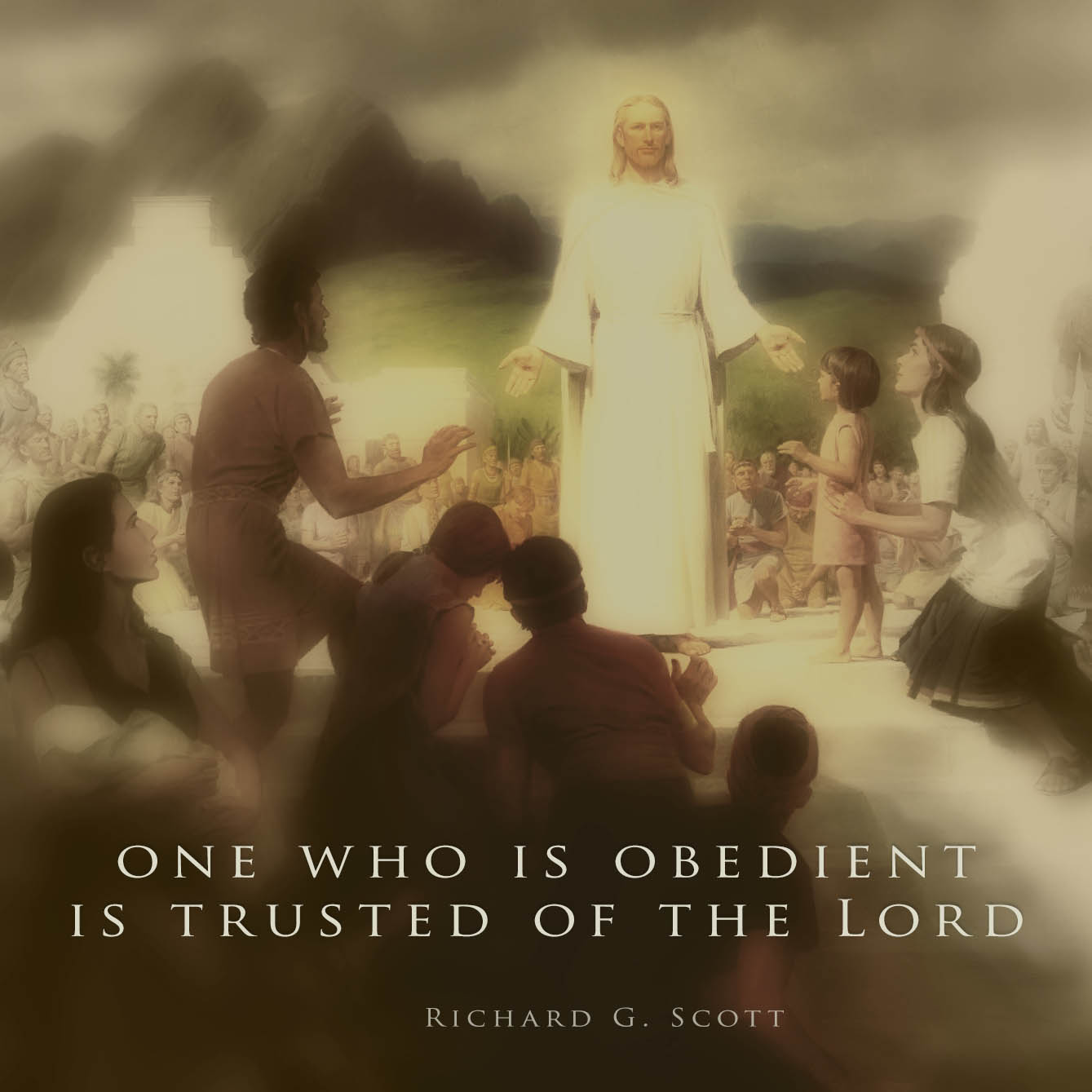 Who is obedient is trusted of the Lord by Richard G. Scott