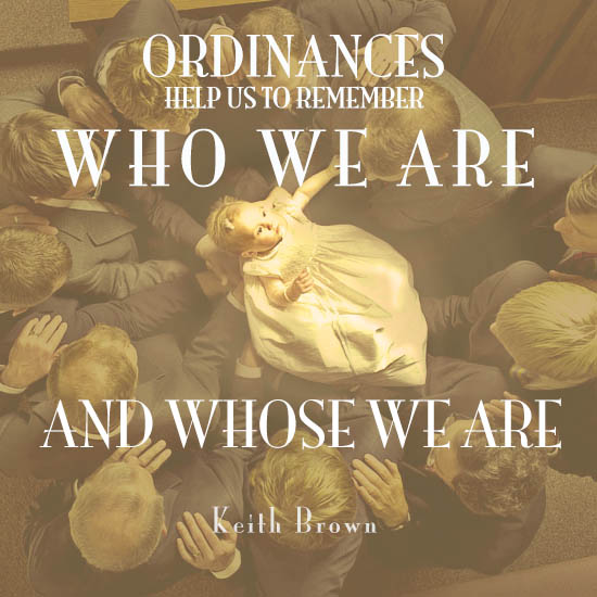 Mormonism Answers: What are Ordinances?