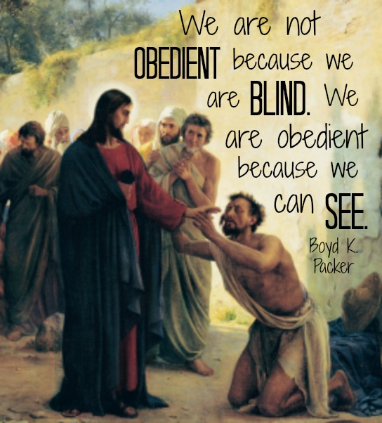 Obedience to Jesus Christ