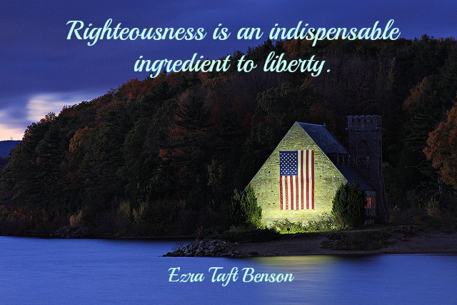 Righteousness Liberty Benson