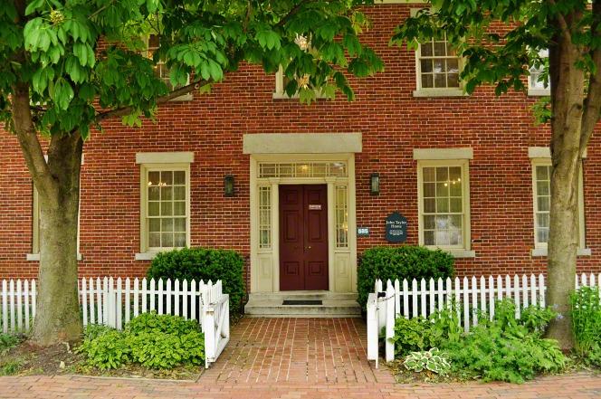 John Taylor's home in Nauvoo, Illinois.