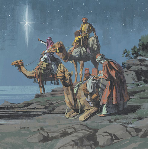 Wise Men lds art