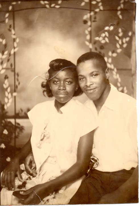 Mom and Dad early years