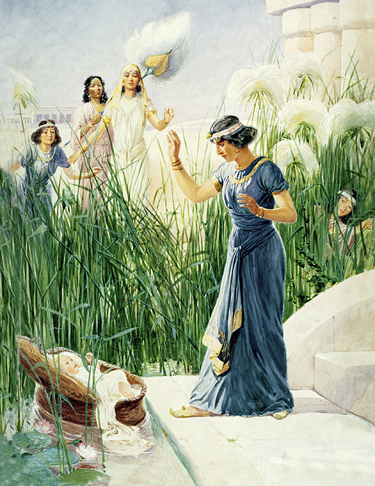 Baby Moses in the Bulrushes