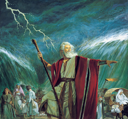 3. Moses & The Exodus: Leading the Children of Israel out of Bondage