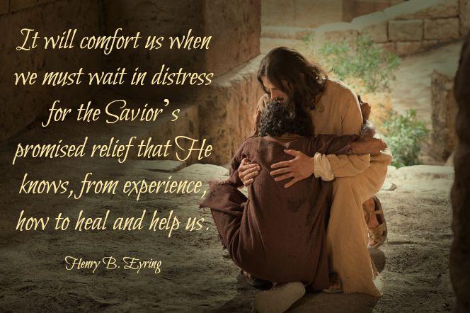 Savior Relief Henry B. Eyring