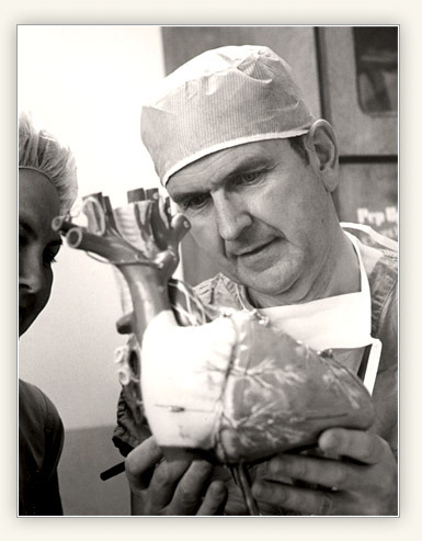 Elder Russell M. Nelson was a heart surgeon before he was called to be an Apostle.