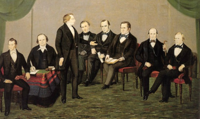Joseph Smith instructs the Twelve Apostles of the LDS Church