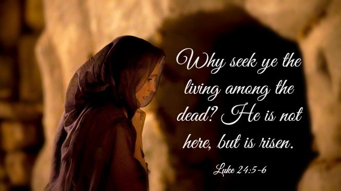 He is not here, but is risen.