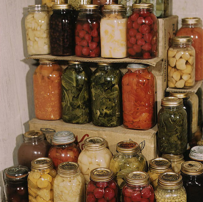 Mormons believe in gathering food storage to be prepared in case of an emergency.