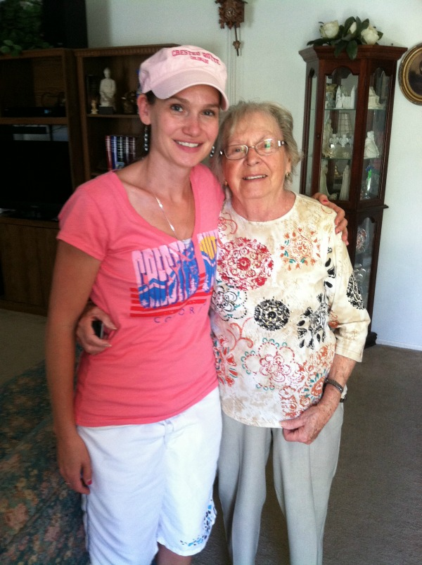 This is one of the last pictures I have of me and my Grandma.