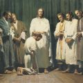Jesus Christ ordains His Twelve Apostles.