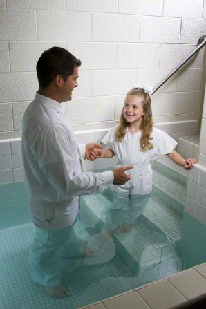Mormons believe that we make covenants with God at baptism.
