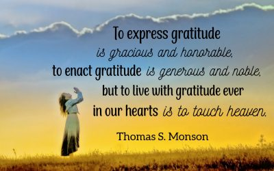 The Healing Power of Gratitude and Thanksgiving